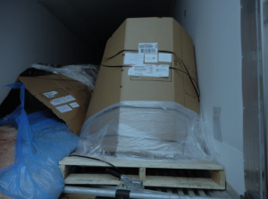 Fix damage with dunnage air bags