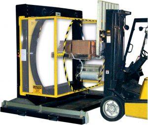 Yellow Jacket Orbital Stretch Wrapper machine