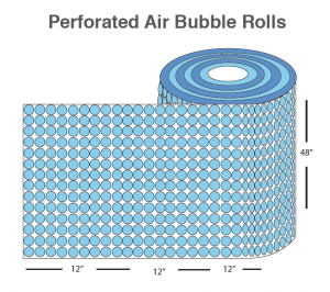 air bubble rolls - protective packaging- IPS Packaging