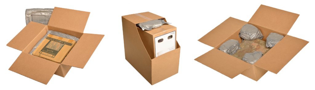 Foam-in-place packaging helps protect packages with a custom foam insert.