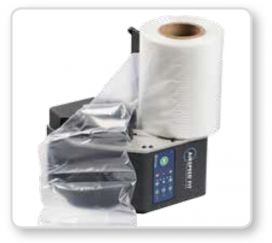 product packaging improved from an air-pillow packaging system