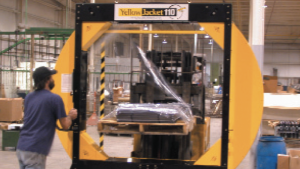 orbital stretch wrapper case study: appliance manufacuter- IPS Packaging