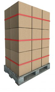 Packing tape for palletizing