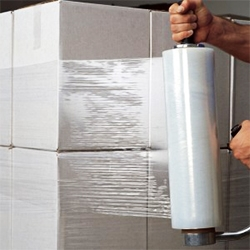 Food and beverage packaging stretch film